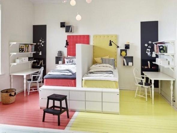 Dividir o quarto em dois ambientes 020