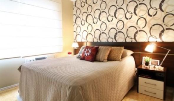Ideias para decorar as paredes com bolinhas 010
