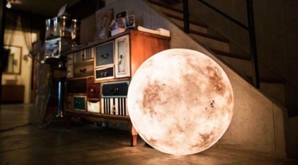 Peças de decoração inspiradas na Lua 002
