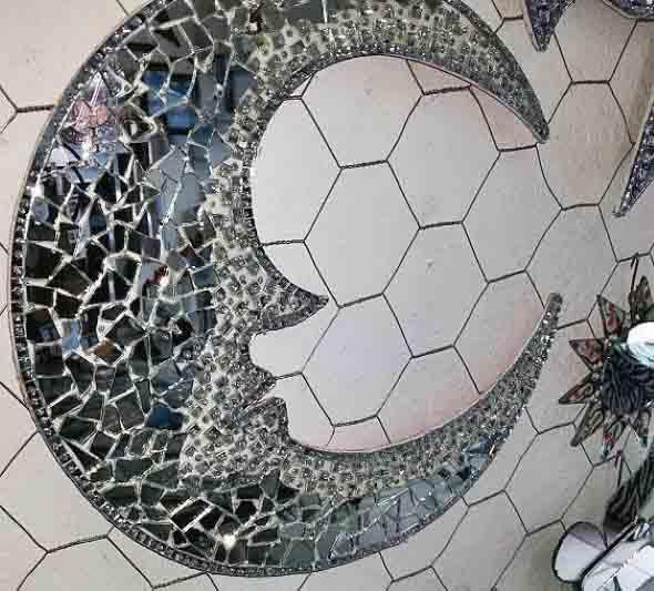 Peças de decoração inspiradas na Lua 006