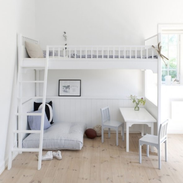 Pequenos espaços debaixo da cama 005