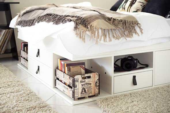 Pequenos espaços debaixo da cama 010