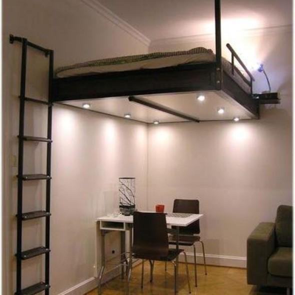 Pequenos espaços debaixo da cama 017