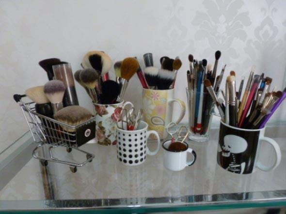 organizar pincéis de maquiagem 004