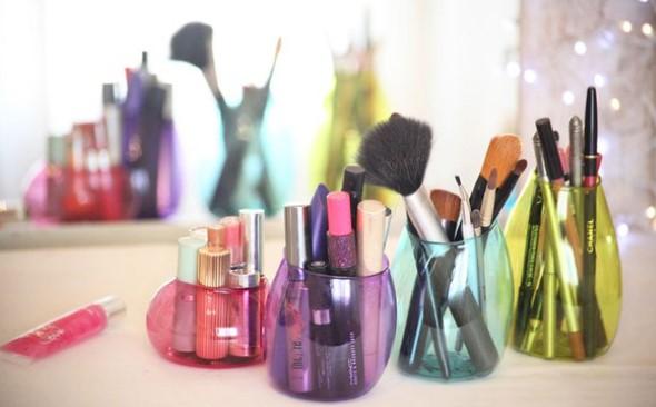 organizar pincéis de maquiagem 006