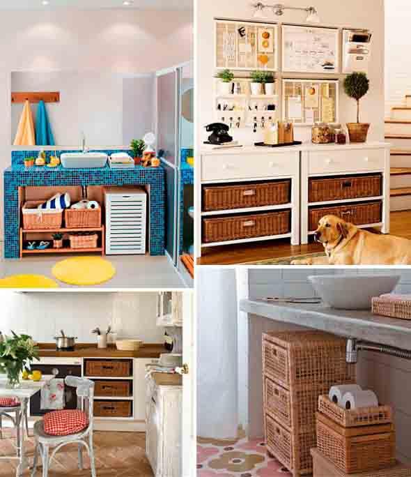 Decore sua casa com objetos de vime 010