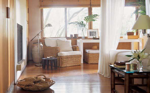 Decore sua casa com objetos de vime 015