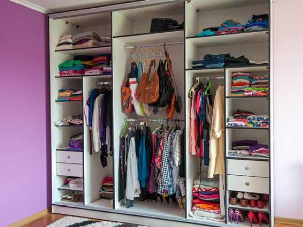 Guarda roupas sem portas 012