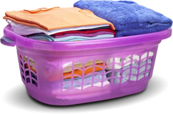 Organizar roupas na lavanderia 010