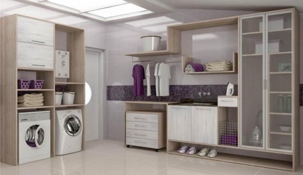 Organizar roupas na lavanderia 014