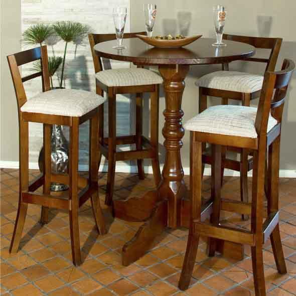 Use mesas bistrô na decoração de casa 008
