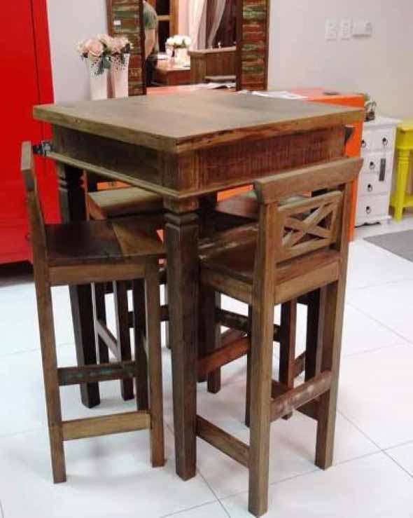 Use mesas bistrô na decoração de casa 011
