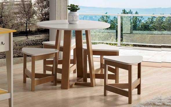Use mesas bistrô na decoração de casa 013