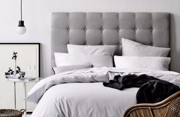 Cabeceira de cama estofada 003