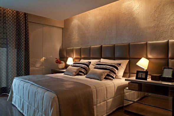 Cabeceira de cama estofada 013