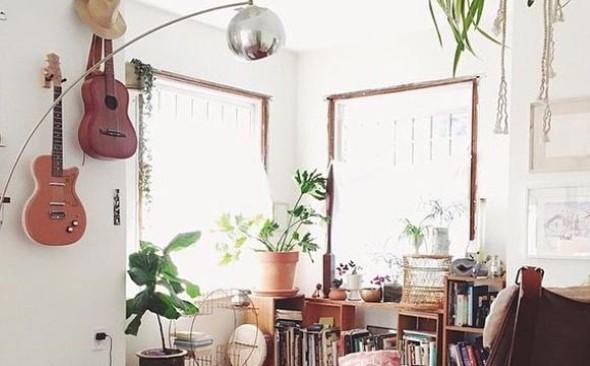 Decoração de ambientes com estilo musical 004
