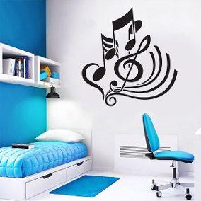 Decoração de ambientes com estilo musical 18