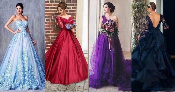 vestido noiva colorido 4