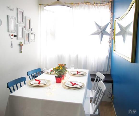 enfeite mesa de natal 14