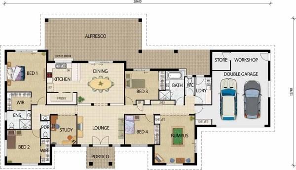 30-modelos de plantas de casas