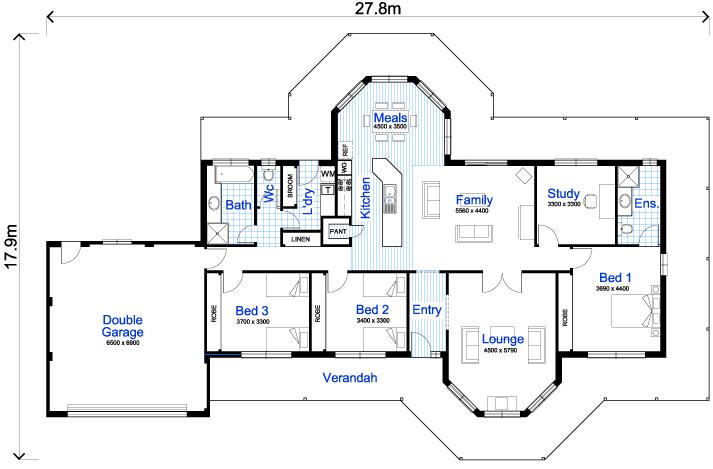 32-modelos de plantas de casas