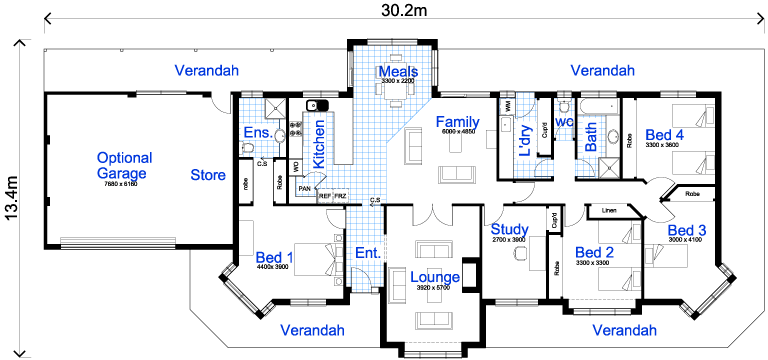 36-modelos de plantas de casas