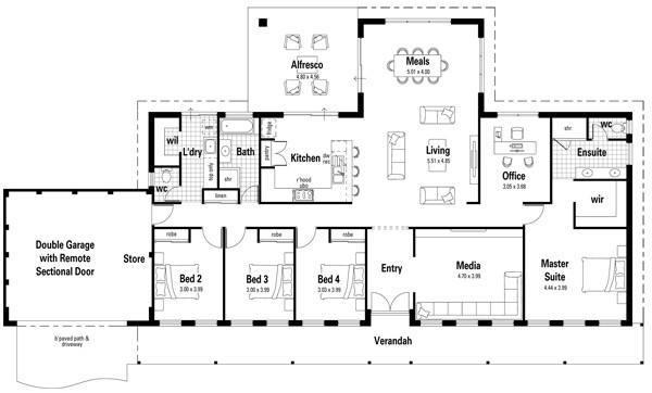 38-modelos de plantas de casas