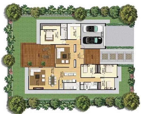 40-modelos de plantas de casas