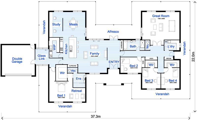 60-modelos de plantas de casas