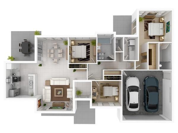 9-modelos de plantas de casas