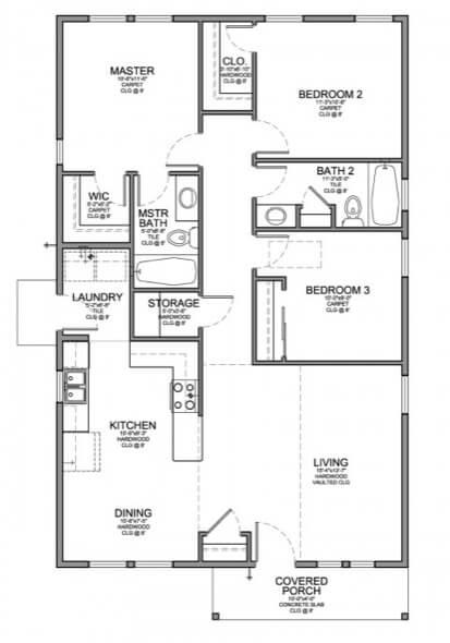 15-casas populares da caixa projetos