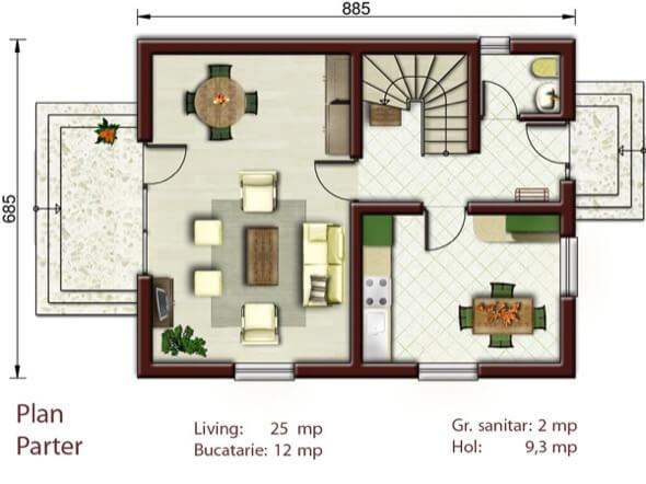 5-casas populares da caixa projetos