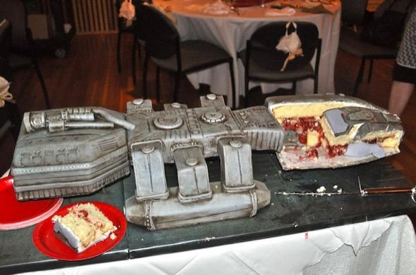 1-bolo de casamento geek