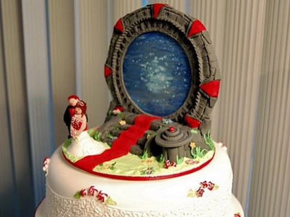 6-bolo de casamento geek