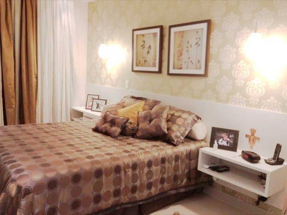 3-parede quarto casal decorada