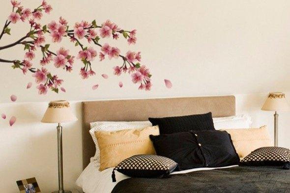 5-parede quarto casal decorada