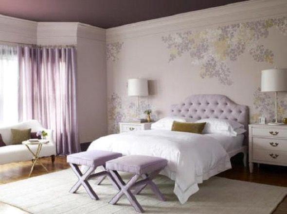 9-parede quarto casal decorada