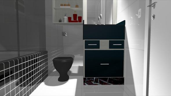 6-modelo banheiro preto e branco