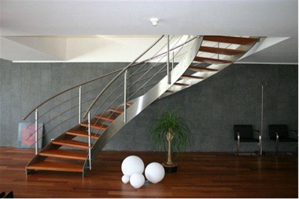 7-modelos de escadas caracol