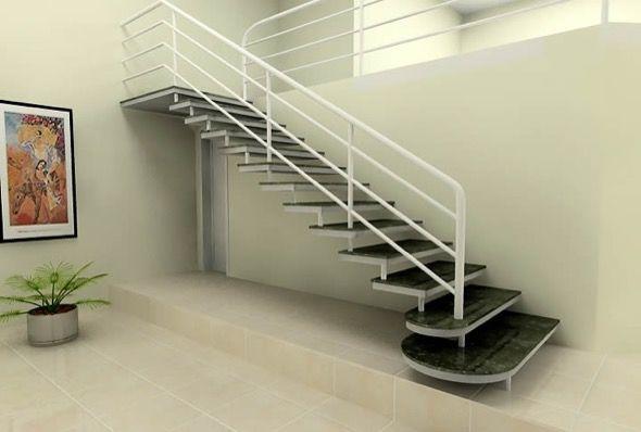 8-escadas retas modelos