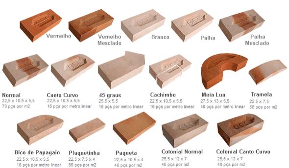 9-fachadas e paredes de tijolo colonial