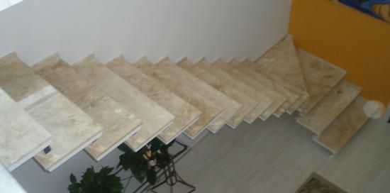foto de escada reta
