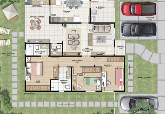planta+de+casa+de+praia+modelo34