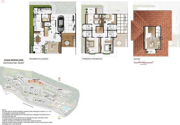 11-plantas de casas triplex