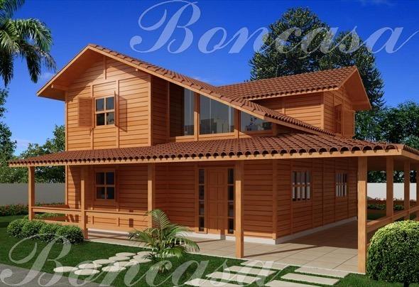 4-modelos de casas pre fabricadas de madeira