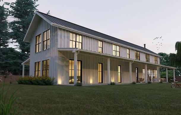 planta casa de campo futurista1