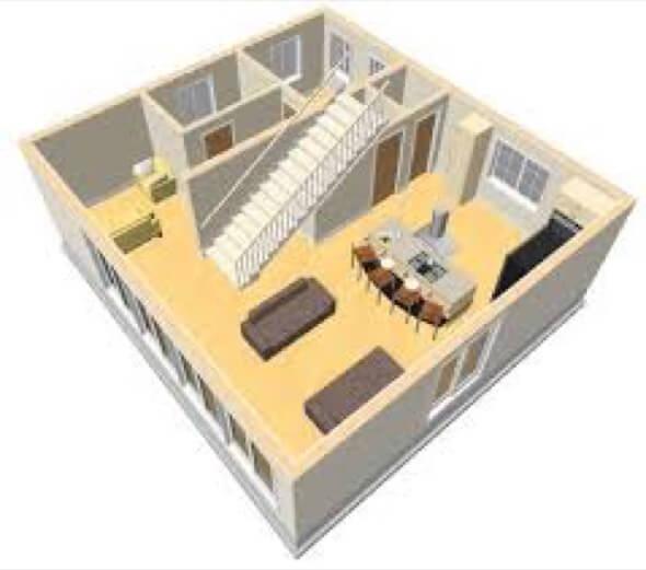 27-plantas de casas 3d modelos