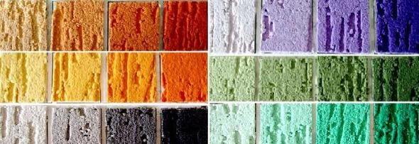 3-tipos de textura em parede grafiato