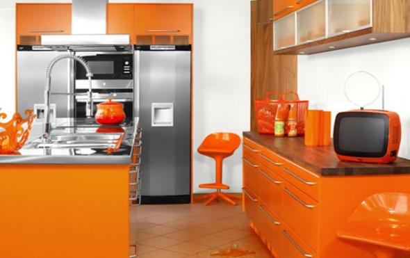 1-armarios de cozinha laranja