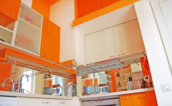 10-armarios de cozinha laranja